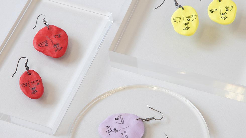 Doodle Earring Set