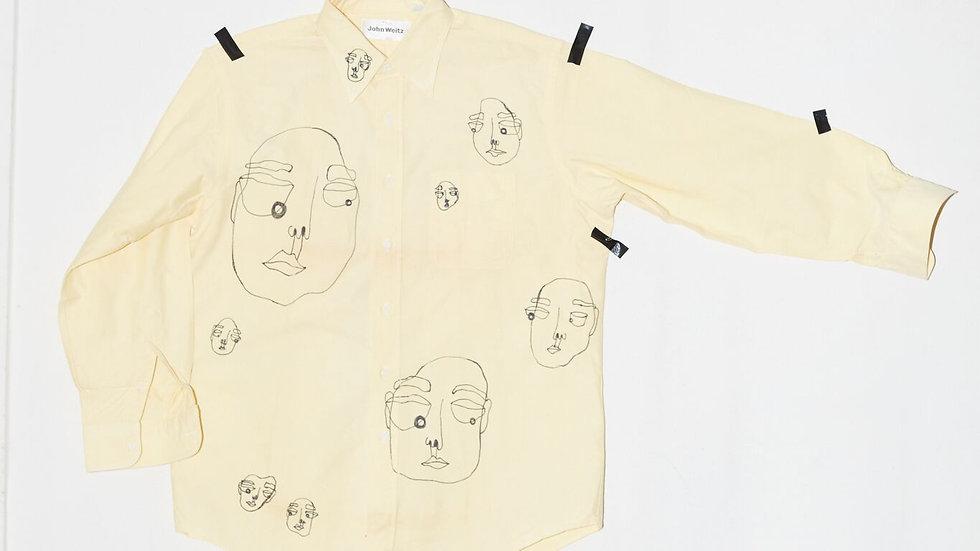 Long Sleeve Doodle Shirt
