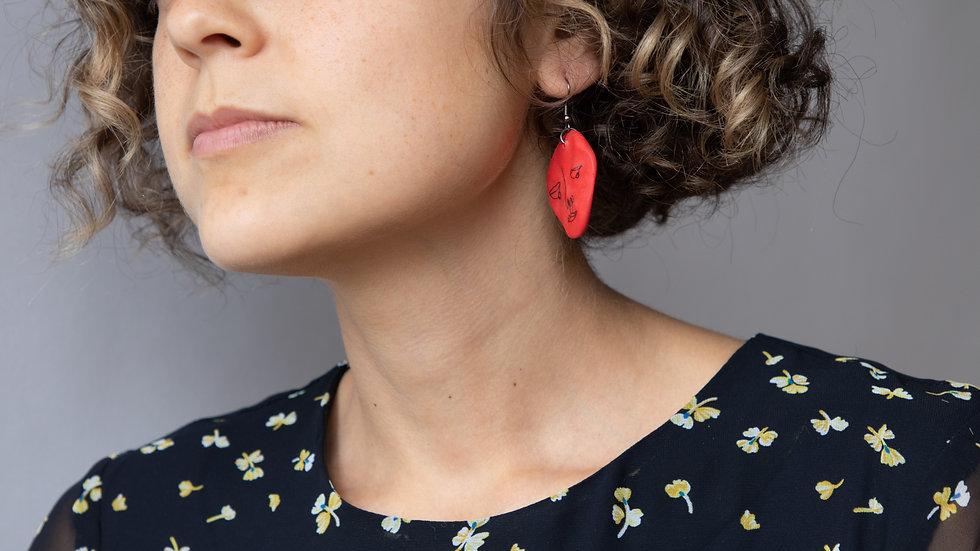 Single Doodle Earring