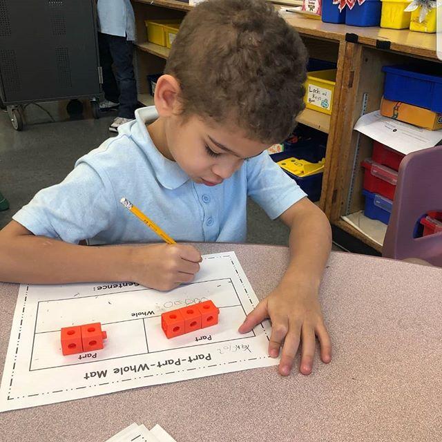 Adding together in kindergarten @distric