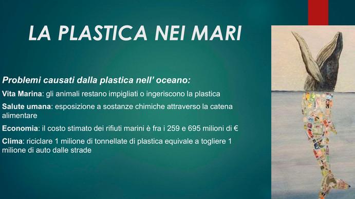 La plastica nei mari