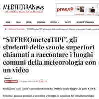 Mediterranews.org, 25 giugno 2018 [CLICCA PER LEGGERE]