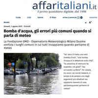 Affaritaliani.it, 1 agosto 2019 [CLICCA PER LEGGERE]