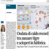 Corriere della Sera ed. Milano, 25 luglio 2019