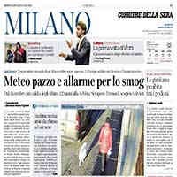 Corriere della Sera ed.Milano, 8 gennaio 2020