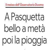 La Repubblica ed. Milano, 20 aprile 2019