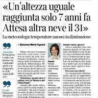 Corriere della Sera, 29 dicembre 2020