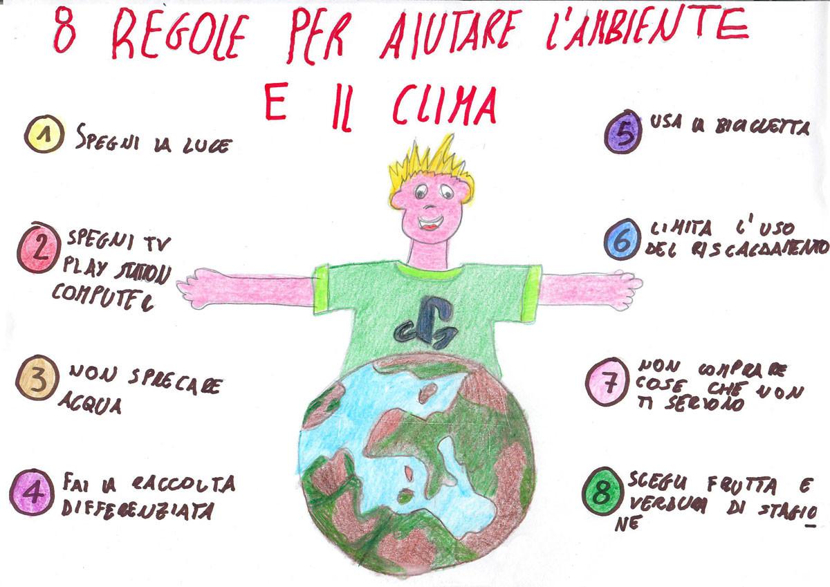 8 regole per l'ambiente e il clima