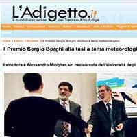 L'Adigetto.it, 15 novembre 2020