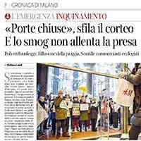 Corriere della Sera ed.Milano, 18 gennaio 2020