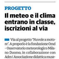 Il Cittadino, 20 settembre 2018 [CLICCA PER LEGGERE]