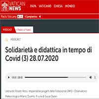 Radio Vaticana, 28 luglio 2020