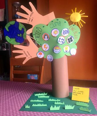 L'albero dell'energia rinnovabile e pulita.
