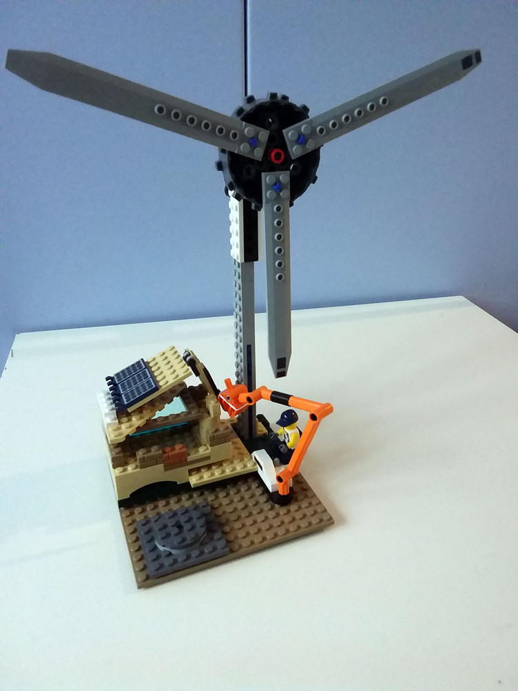 Energia con i Lego