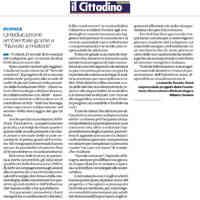 Il Cittadino, 13 novembre 2019  [CLICCA PER LEGGERE]