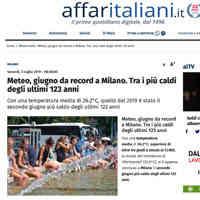 Affaritaliani.it, 5 luglio 2019 [CLICCA PER LEGGERE]