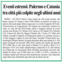 Quotidiano di Sicilia, 20 novembre 2019 [CLICCA PER LEGGERE]