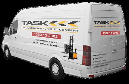 TASK Forklifts Servicing