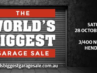 TASK sponsor World's Biggest Garage Sale!