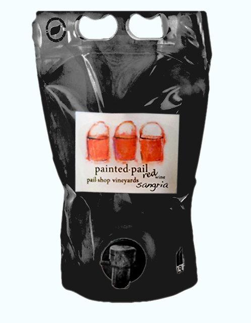 Painted Pail Red Sangria 3L Bag