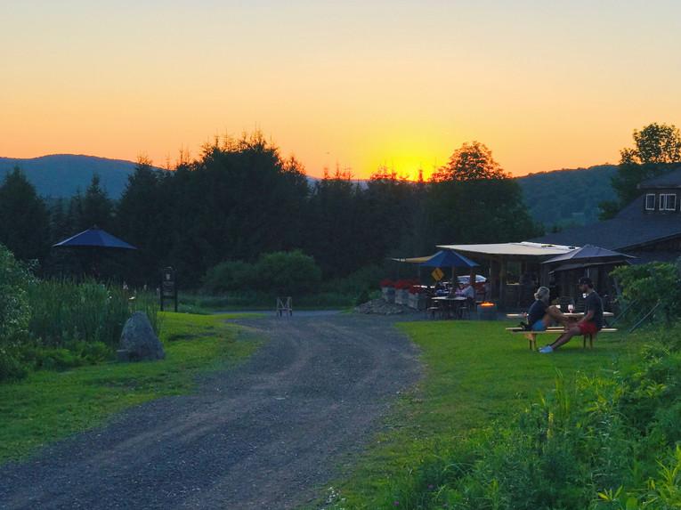 Sangria at sunset