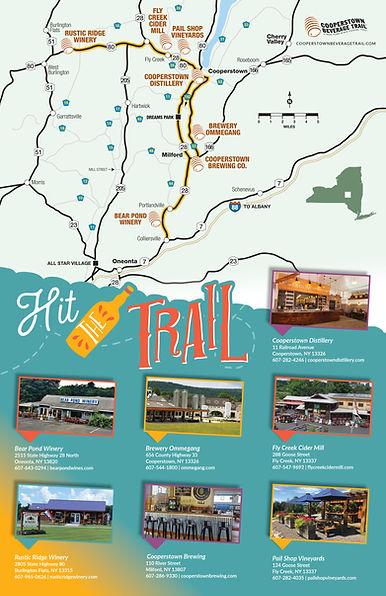 Beverage Trail Map