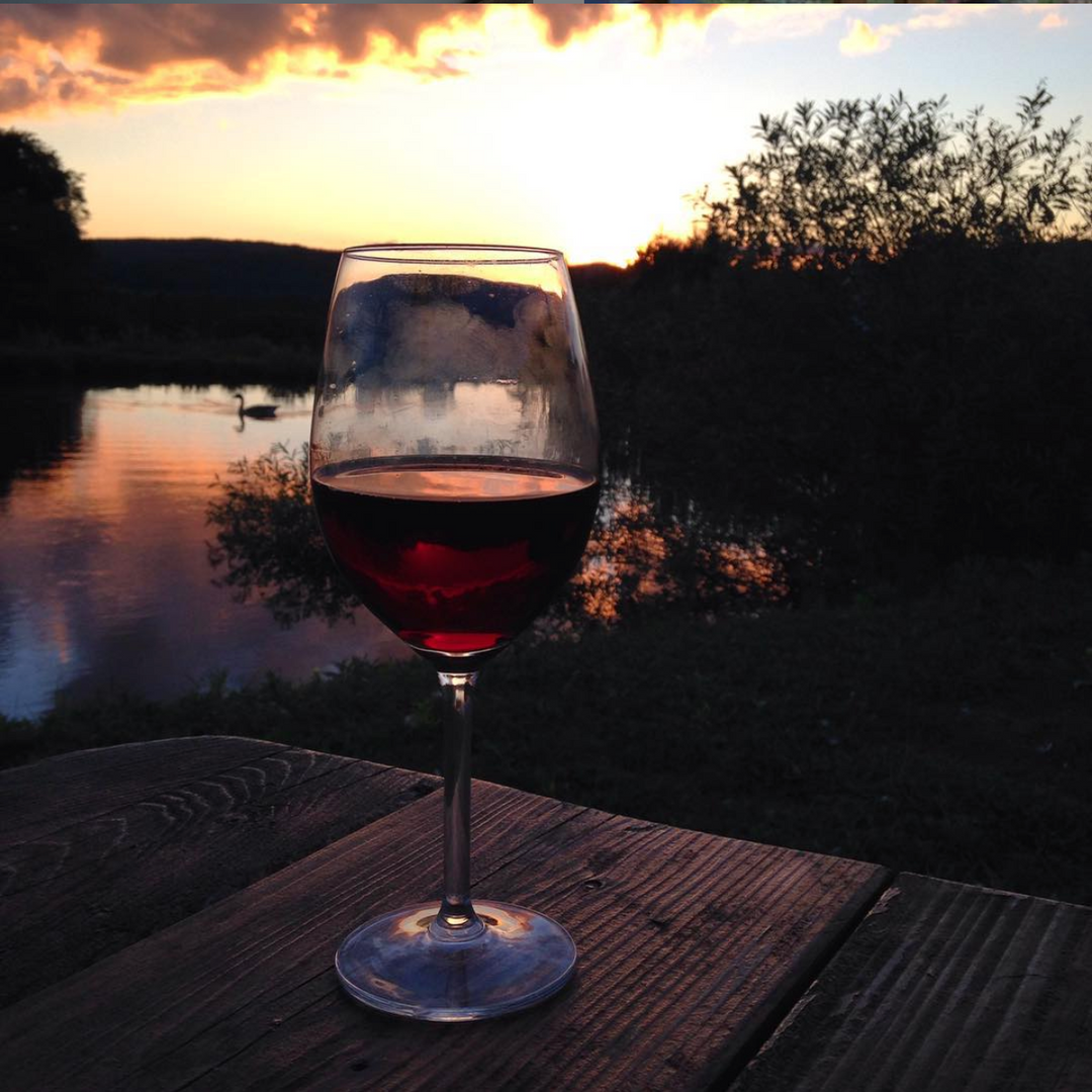 Wine by the Pond