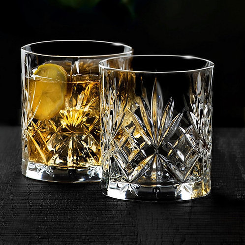 Whiskey glas, of liever een G'in tonic glas
