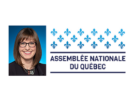 La ministre responsable de la Gaspésie,