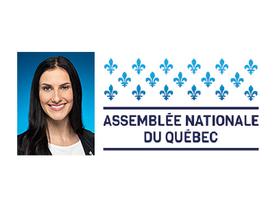 La députée de Gaspé à l'Assemblée nation