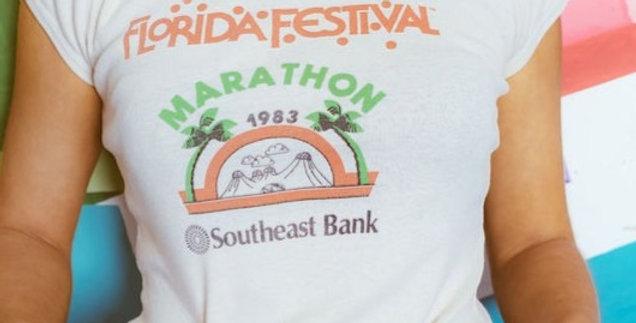 Florida Festival Scoop Neck T Shirt
