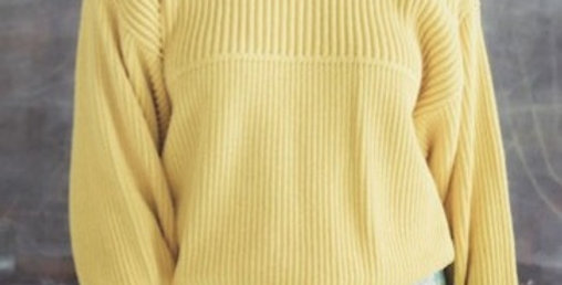 70's Style Cable Knit Sweater