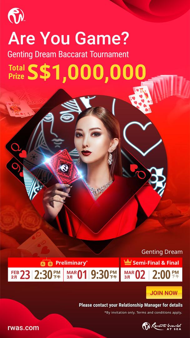 Genting Dream Bacarrat Tournament