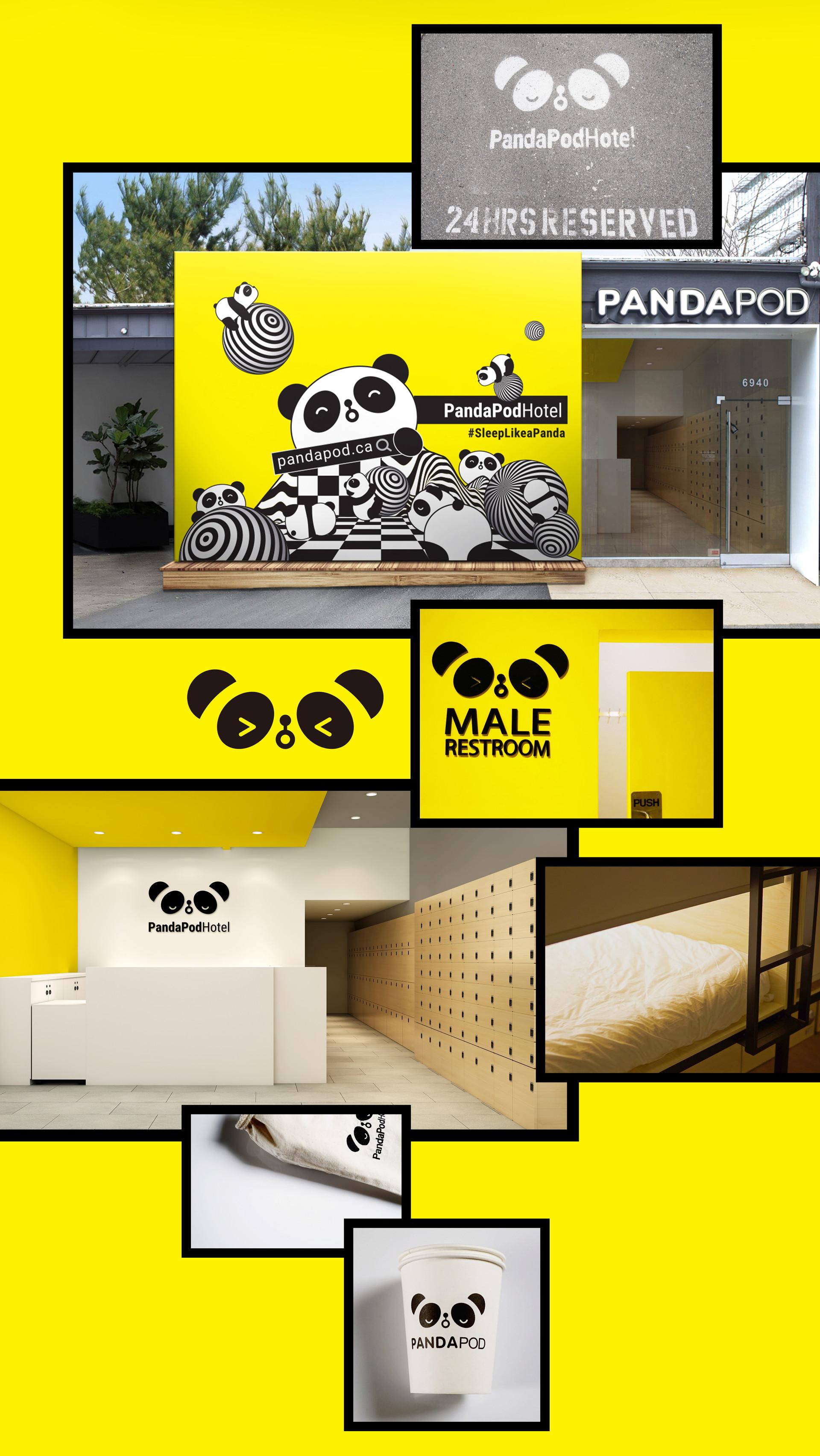 PandaPod Hotel