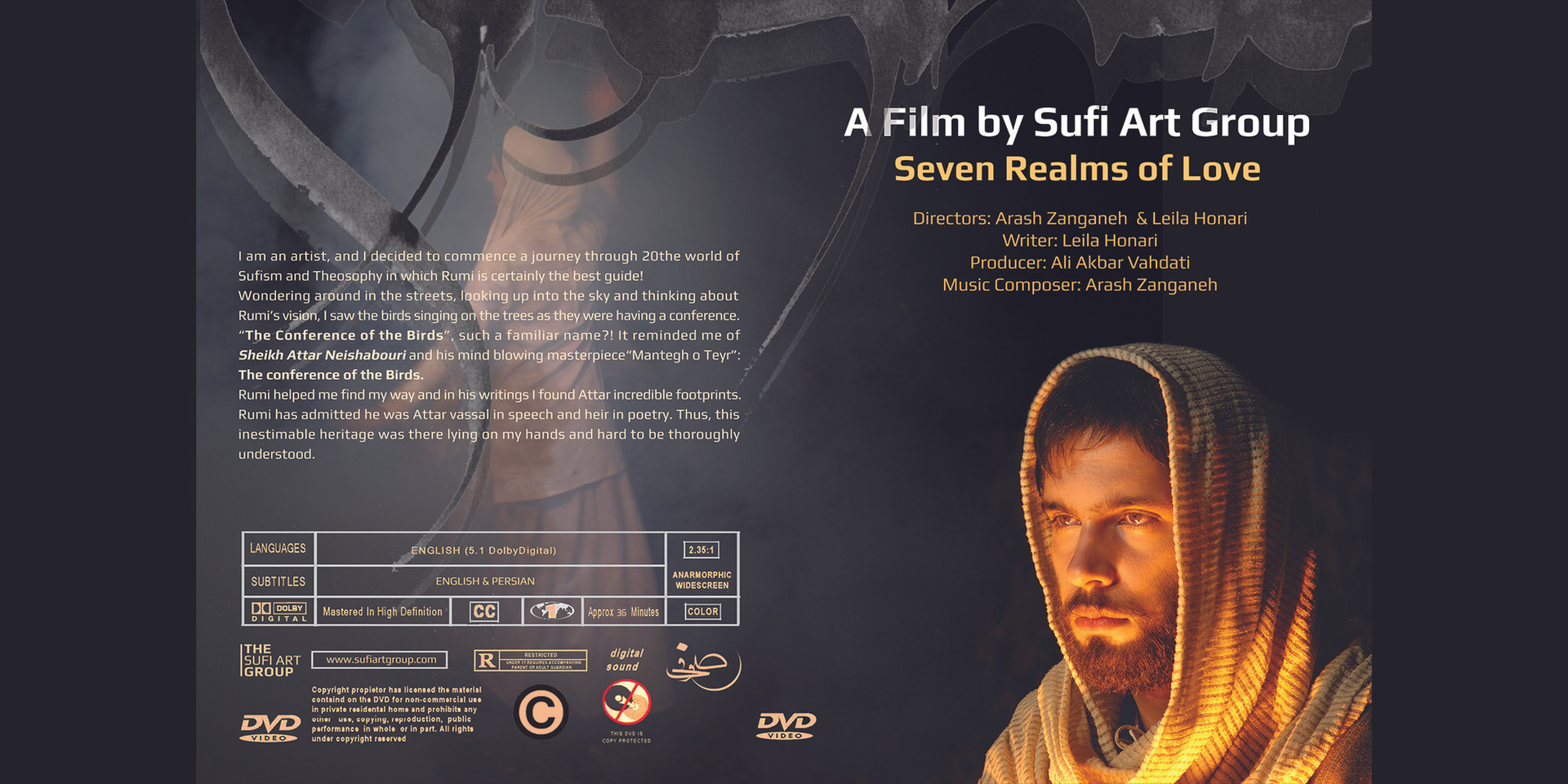 DVD - Seven Realms of Love