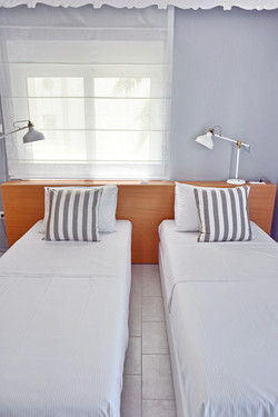 Two Single size beds/Room 2