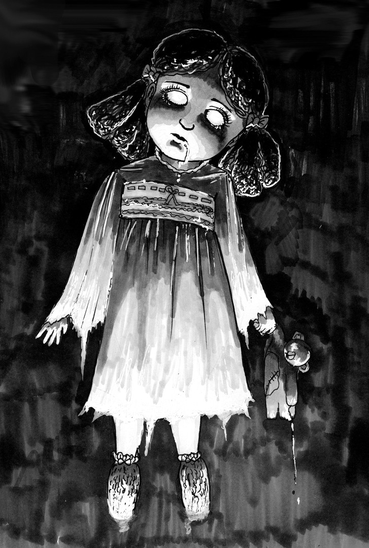 8.25x12.25 Little Ghost Girl.jpg