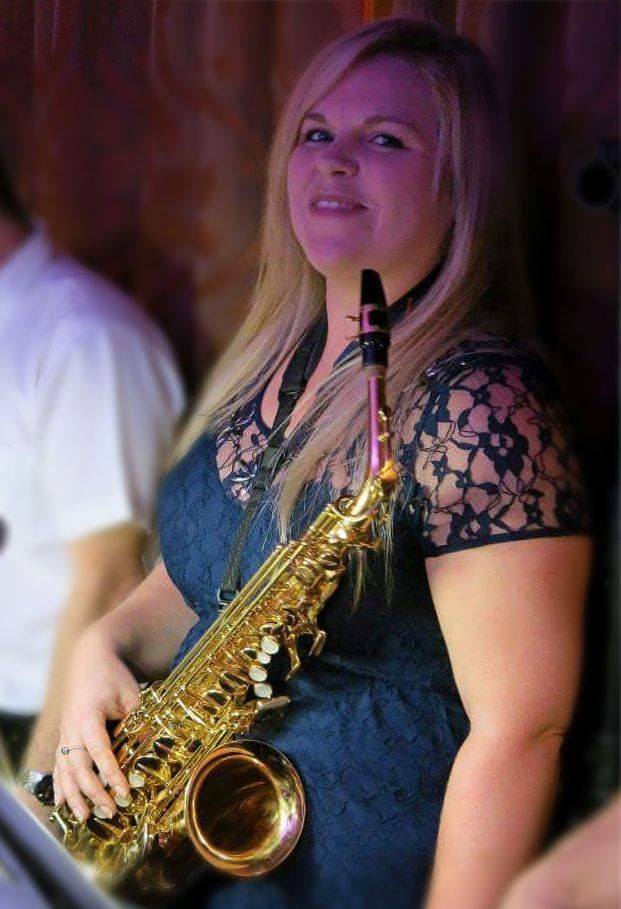 Cheryl Moore - Madison Avenue UK's new saxophone player