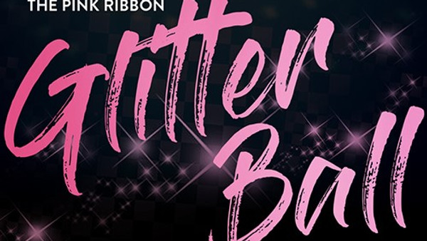 The Pink Ribbon Glitter Ball