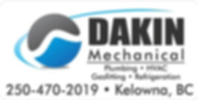Dakin Mechanical business Card