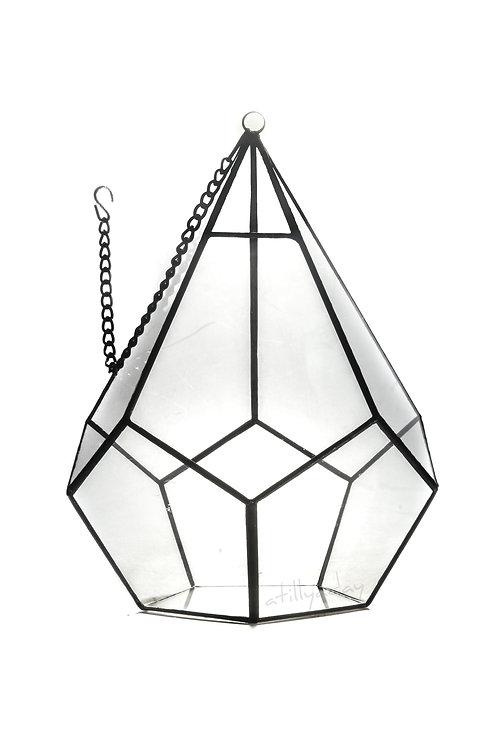 Geometric Glassware with Pentagon Base