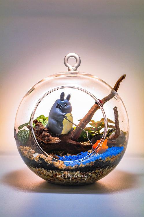 Customised Open Terrarium Glass Globe