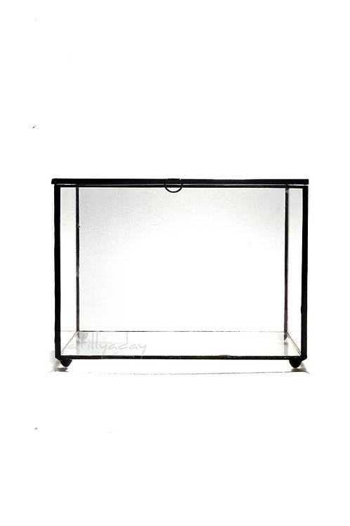 Rectangular shaped Geometric Glassware