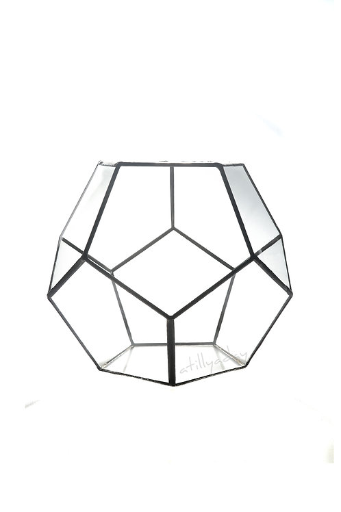 Pentagon shaped Geometric Glassware