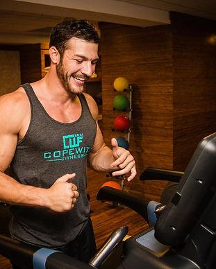 Brandon Sean Cody Jeff Cope with Fitness