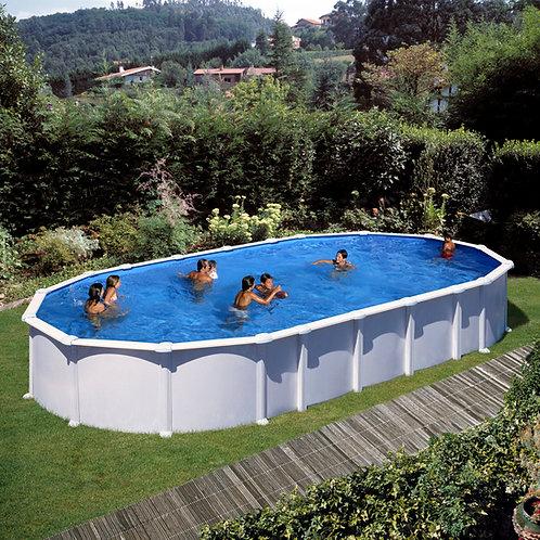 Pool white steel 915x470x132 Omega