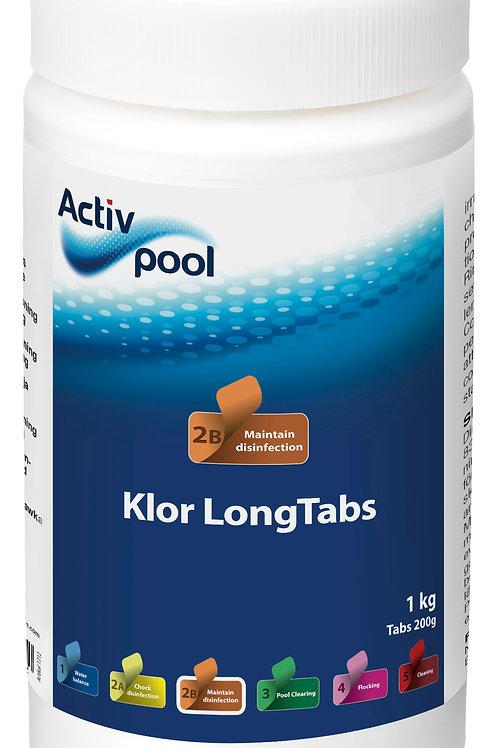 ActivPool Klor LongTabs 200G 1kg