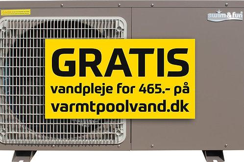 Heat Pump Inverter Pro 9 kW max 15-30m3 Wifi kontrol metal cabinet