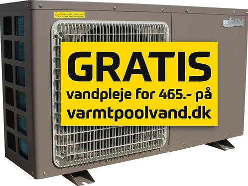 Heat Pump Pro 5 - 2,5kW max 15m3 Wifi kontrol metal cabinet