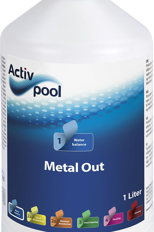 ActivPool Metal Out 1L